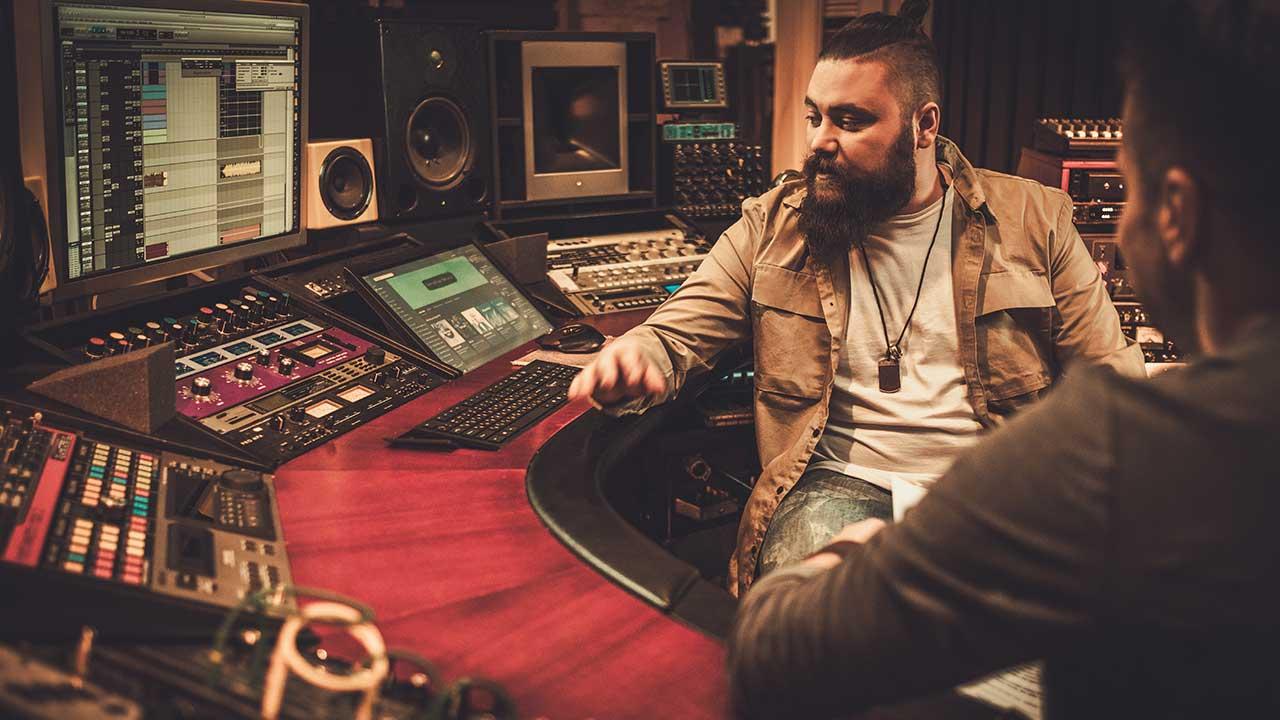 record producer salary
