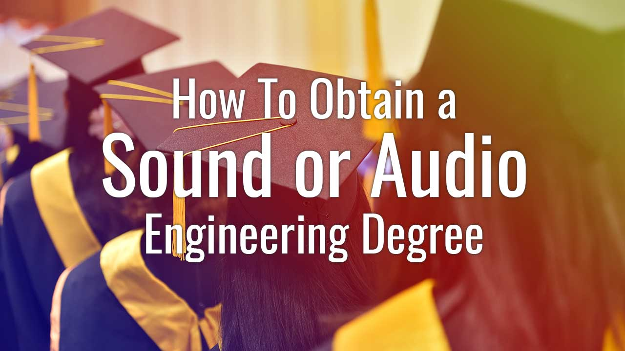 how to obtain a sound or audio degree