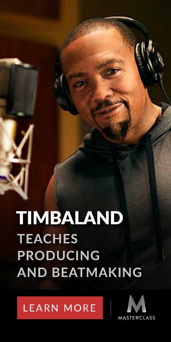 Timbaland MasterClass